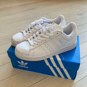 Adidas Halfshells kids size 4.5 women's size 6